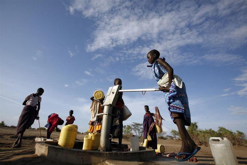 Vesipumppu Keniassa